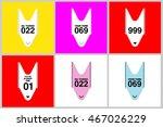 shopping queue ticket  your... | Shutterstock .eps vector #467026229