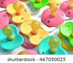 many multi colored nipple on a... | Shutterstock . vector #467050025