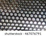 round steel texture as nice... | Shutterstock . vector #467076791