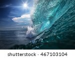 beautiful ocean background big... | Shutterstock . vector #467103104
