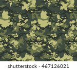fashionable camouflage pattern  ... | Shutterstock .eps vector #467126021