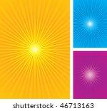 starburst  sunburst vector... | Shutterstock .eps vector #46713163