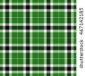 green  black and white plaid... | Shutterstock . vector #467142185