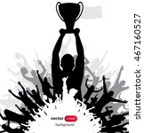 champions cup. poster | Shutterstock .eps vector #467160527