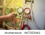manometer air cleaners to... | Shutterstock . vector #467202461