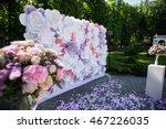 paper flowers in wedding decor  ... | Shutterstock . vector #467226035