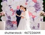 wedding. wedding day. paper... | Shutterstock . vector #467226644