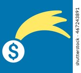 lucky money icon. vector style... | Shutterstock .eps vector #467243891