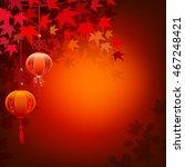 mid autumn festival chinese... | Shutterstock .eps vector #467248421