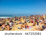 hossegor  france   october 2nd. ... | Shutterstock . vector #467252081