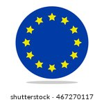 europe flag | Shutterstock .eps vector #467270117