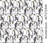 seamless pattern with image of... | Shutterstock .eps vector #467272544