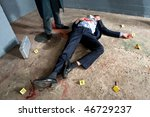 Businessman Lying On The...