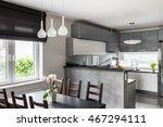 simple dining set  decorative... | Shutterstock . vector #467294111