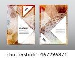 brochure layout template flyer... | Shutterstock .eps vector #467296871