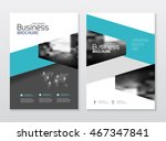 business presentation with... | Shutterstock .eps vector #467347841