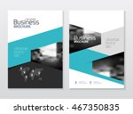 business presentation with... | Shutterstock .eps vector #467350835