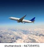 aircraft flight | Shutterstock . vector #467354951