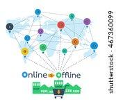 online 2 offline business...
