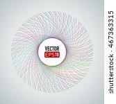 spiral colorful lines. designed ...   Shutterstock .eps vector #467363315