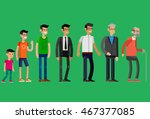 detailed character man... | Shutterstock .eps vector #467377085