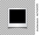 Blank Polaroid Photo Frame...