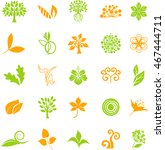 colorful organic series | Shutterstock .eps vector #467444711