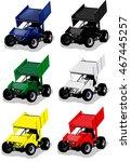 race care illustration in... | Shutterstock .eps vector #467445257