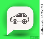 pictograph of car | Shutterstock .eps vector #467453741