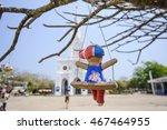 nature landscape toys swing | Shutterstock . vector #467464955