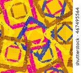 abstract grunge seamless... | Shutterstock . vector #467495564