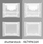 transparent package with flap... | Shutterstock .eps vector #467496164