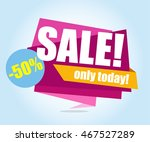 sale banner  special offer  50... | Shutterstock .eps vector #467527289