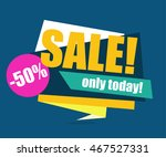 sale banner  special offer  50... | Shutterstock .eps vector #467527331