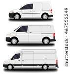 cargo van   Shutterstock .eps vector #467552249