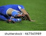 injured football player on field   Shutterstock . vector #467565989