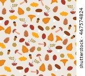 autumn elements. leaves ...   Shutterstock .eps vector #467574824