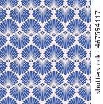 seamless vintage pattern | Shutterstock .eps vector #467594117