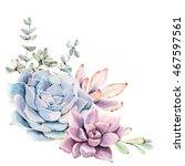 Watercolor Succulent...