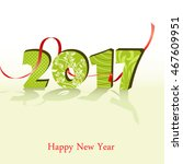 happy new year 2017 background. ... | Shutterstock .eps vector #467609951