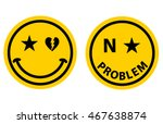 smile emoticon emoji set face... | Shutterstock .eps vector #467638874