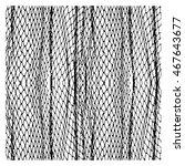 net pattern. rope net vector... | Shutterstock .eps vector #467643677