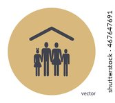 family icon | Shutterstock .eps vector #467647691