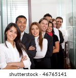 group of business people... | Shutterstock . vector #46765141