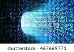 technological fractal textures... | Shutterstock . vector #467669771