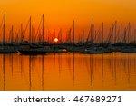 sunrise in coconut grove | Shutterstock . vector #467689271