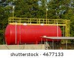 Industrial Storage Tank - stock photo