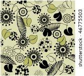 art vintage floral pattern...   Shutterstock .eps vector #46775503