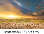 blue sky with white clouds... | Shutterstock . vector #467755799