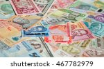 variety of the african banknotes   Shutterstock . vector #467782979